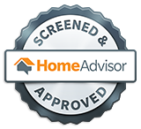 Screened & approved badge from HomeAdvisor